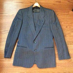 Dark Gray Giorgio Armani Suit, 40R